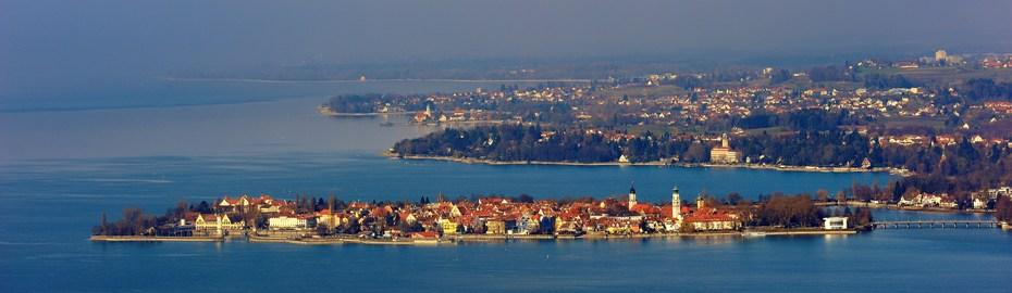 Blick über Lindau